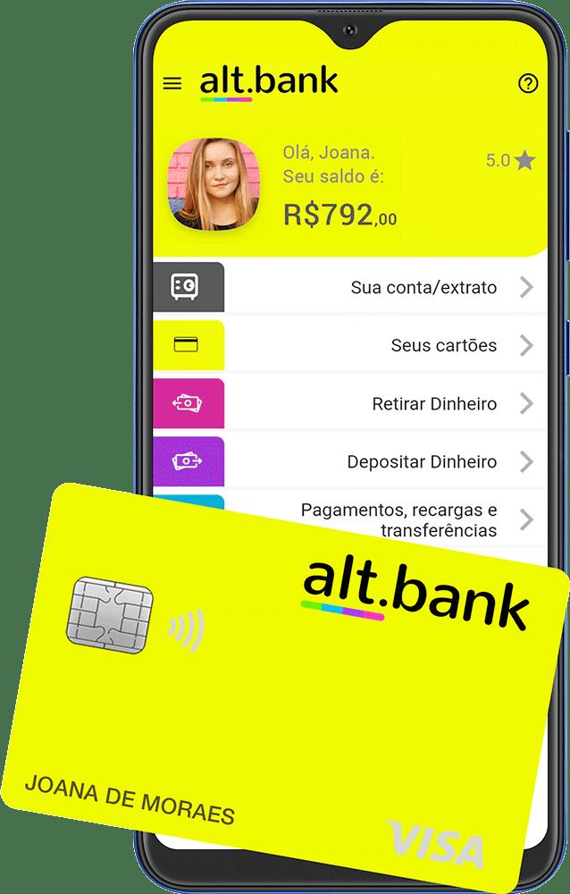 alt.bank - cartão e app